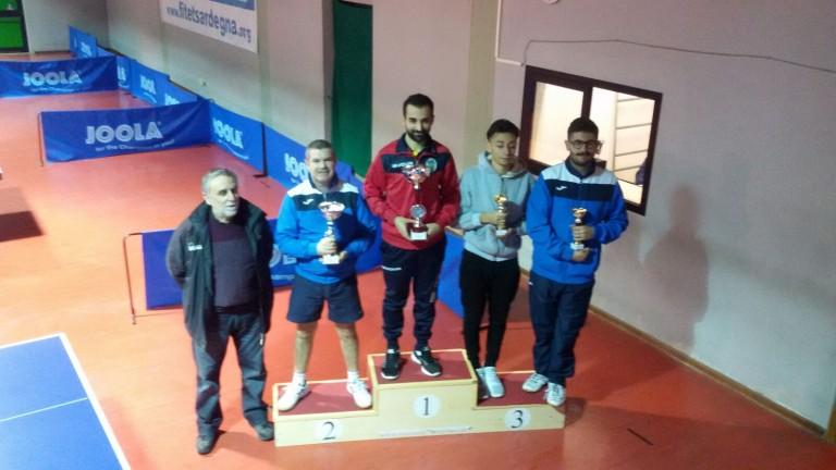Podio Torneo Over 2000 Cagliari