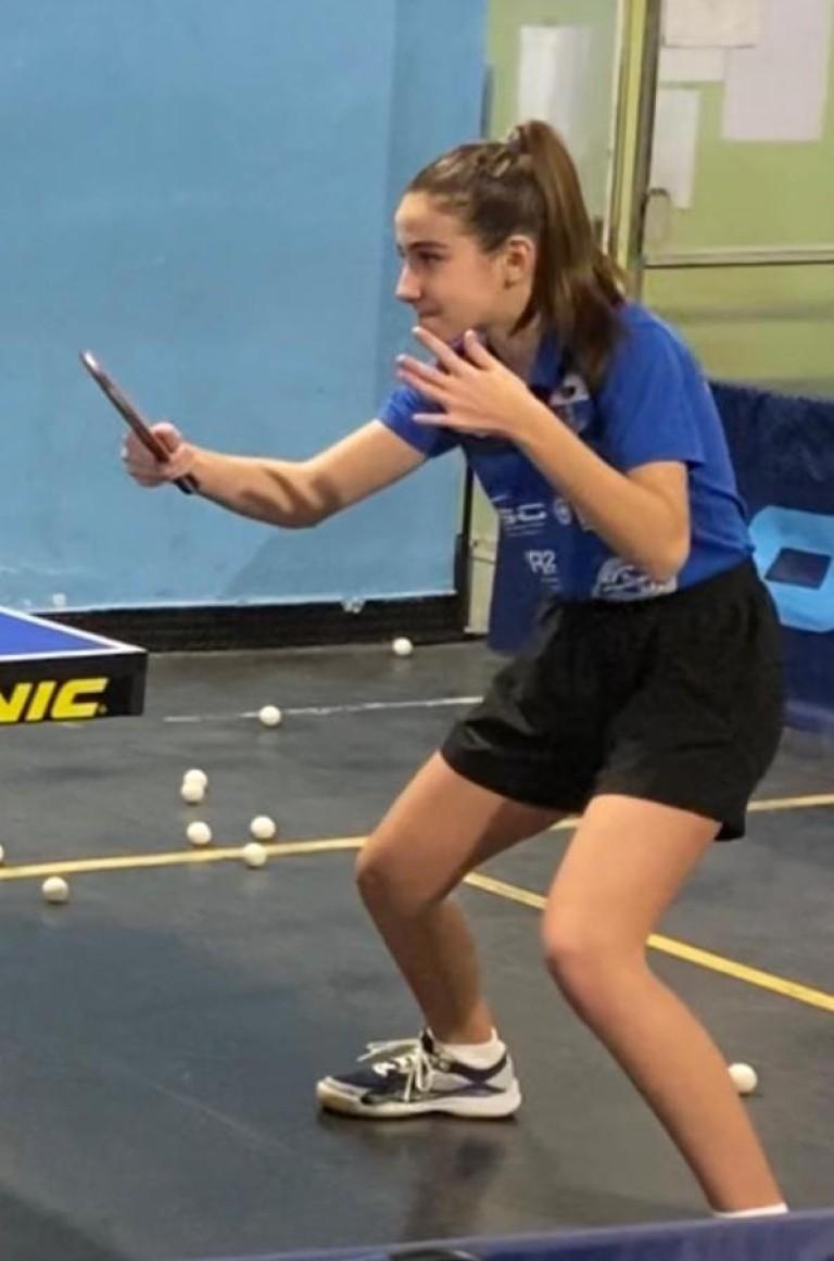 Tennistavolo Sassari - Laura Pinna