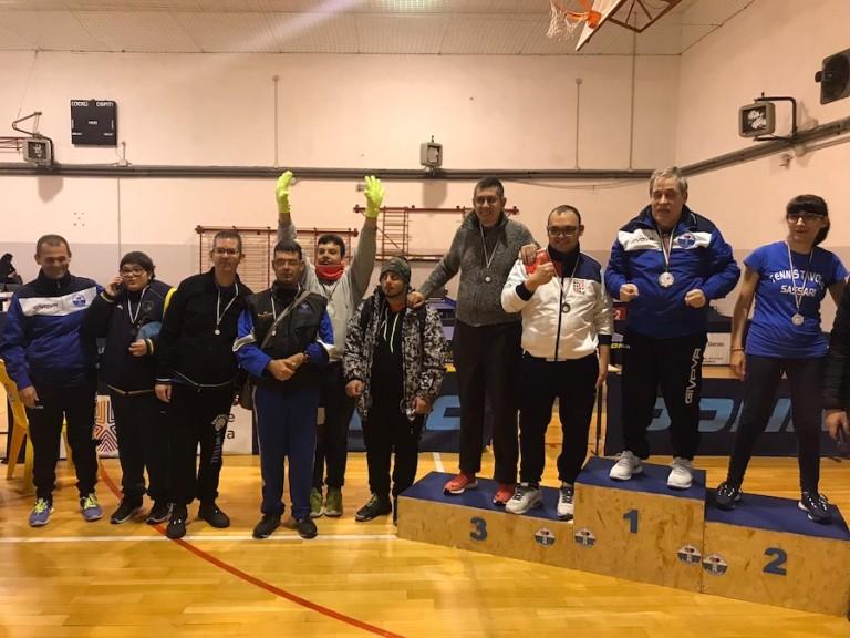 16 - 17 Novembre 2019 - torneo Paralimpico giovanile e veterani Sassari - 1